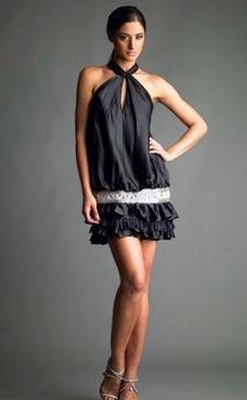 маленько черное платье.  Почти Коко Шанель)