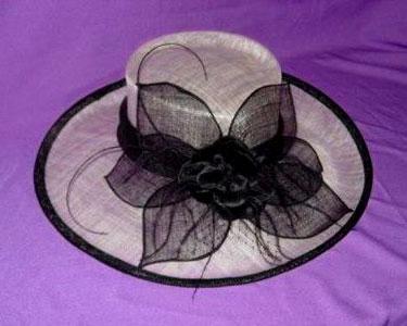 Как сделать дамскую шляпку