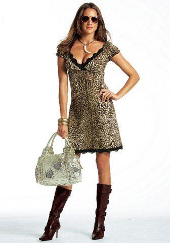 Описание Леопардовое платье BUSVA.RU - Интернет.
