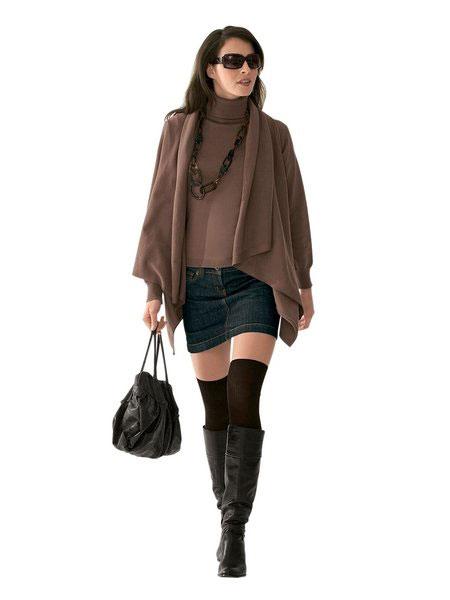 Длинная юбка зима