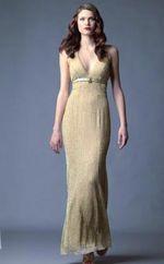 Платья для подружек невесты D3939L, Вечернее платье с завышенной талией...
