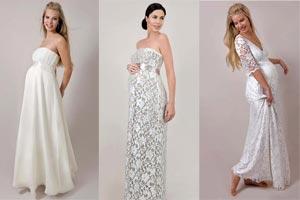 Платья для беременных белые фото