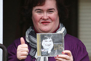 Анонсирован новый альбом британской певицы Сюзан Бойл